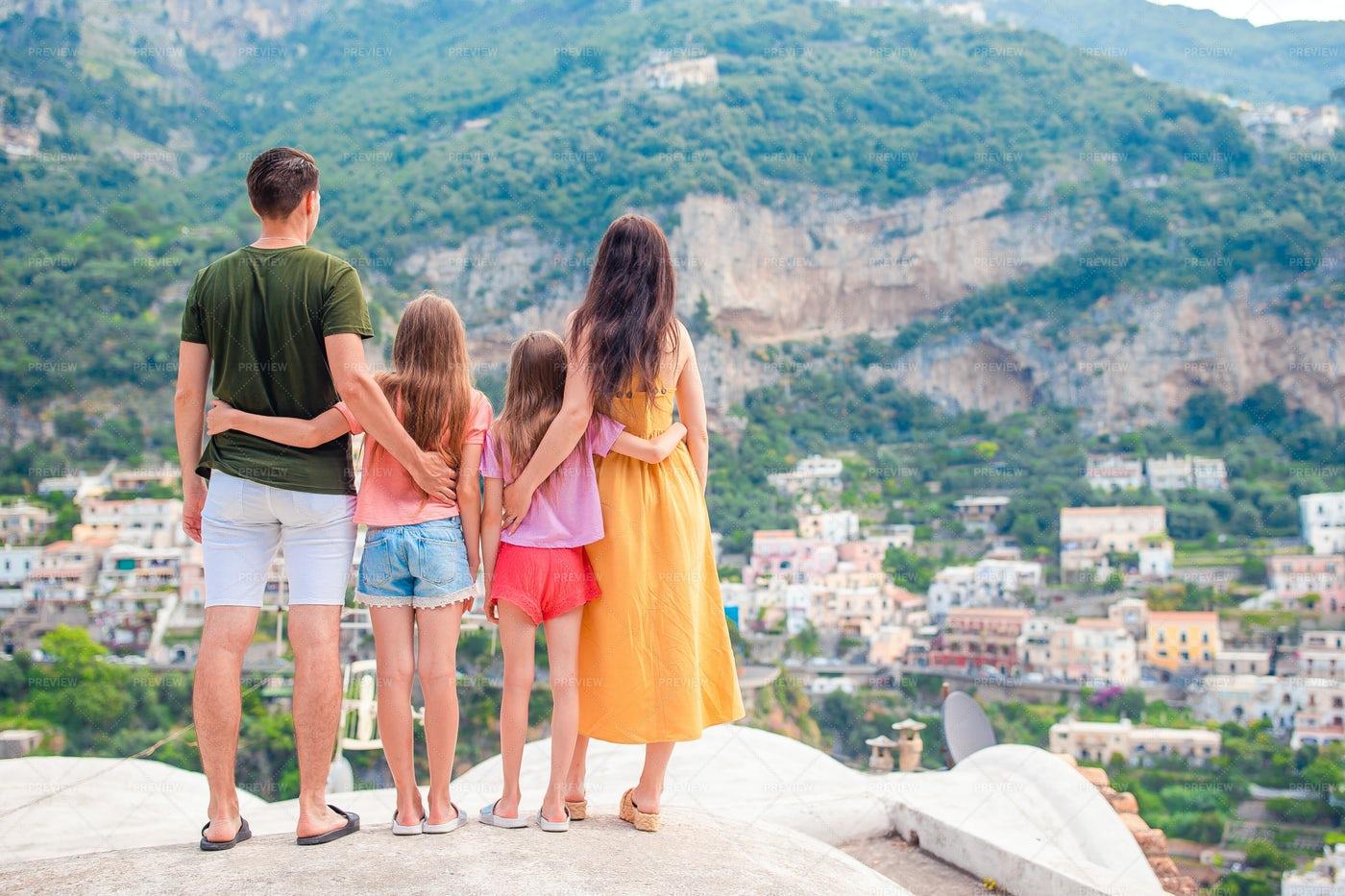 Italian Family Holiday: Stock Photos