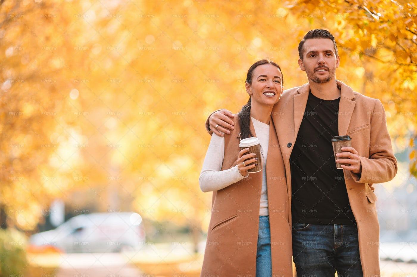 An Autumn Stroll: Stock Photos