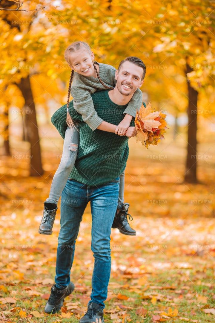 Autumn Family Fun: Stock Photos