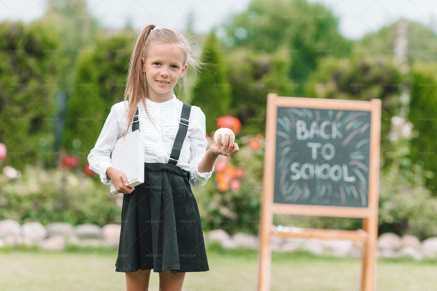 Learning In The Garden: Stock Photos