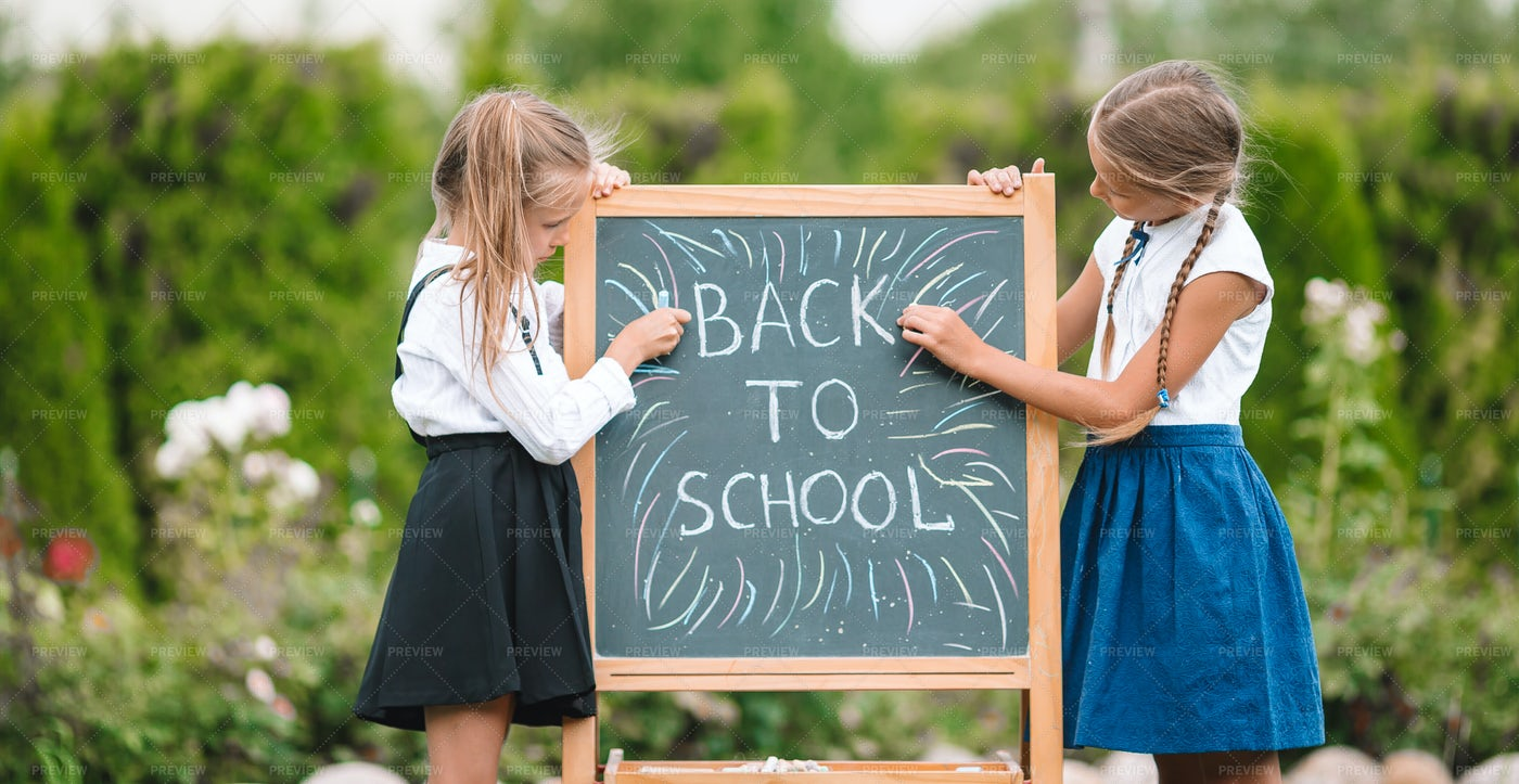 Back To School Board: Stock Photos