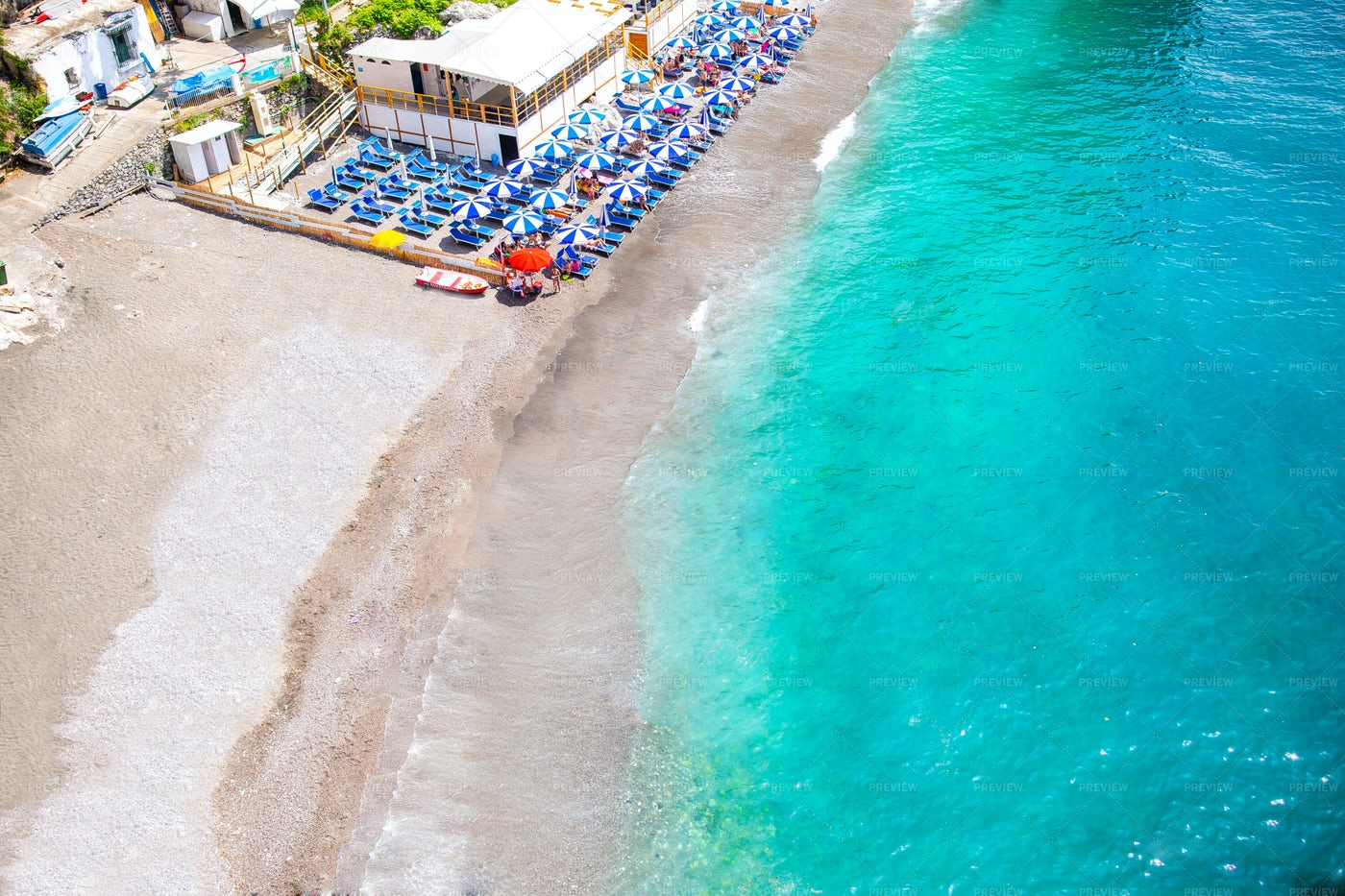 Beach On The Adriatic Sea: Stock Photos