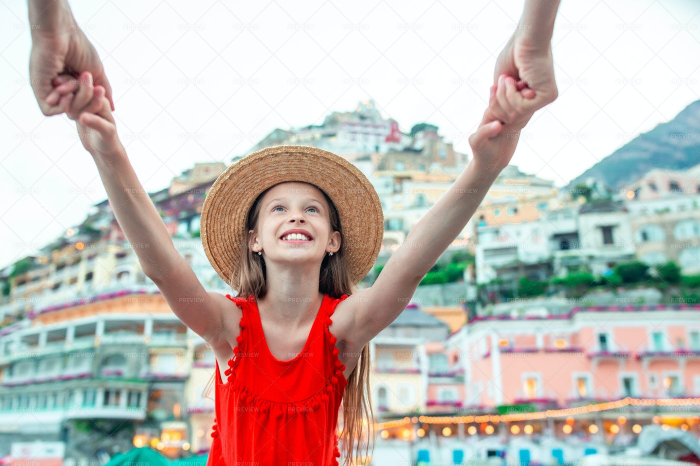 Happy Little Tourist: Stock Photos