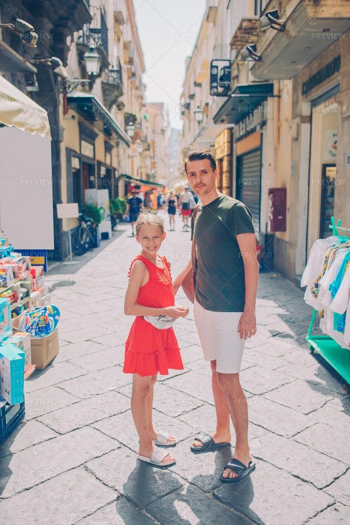 Italian Street Market: Stock Photos