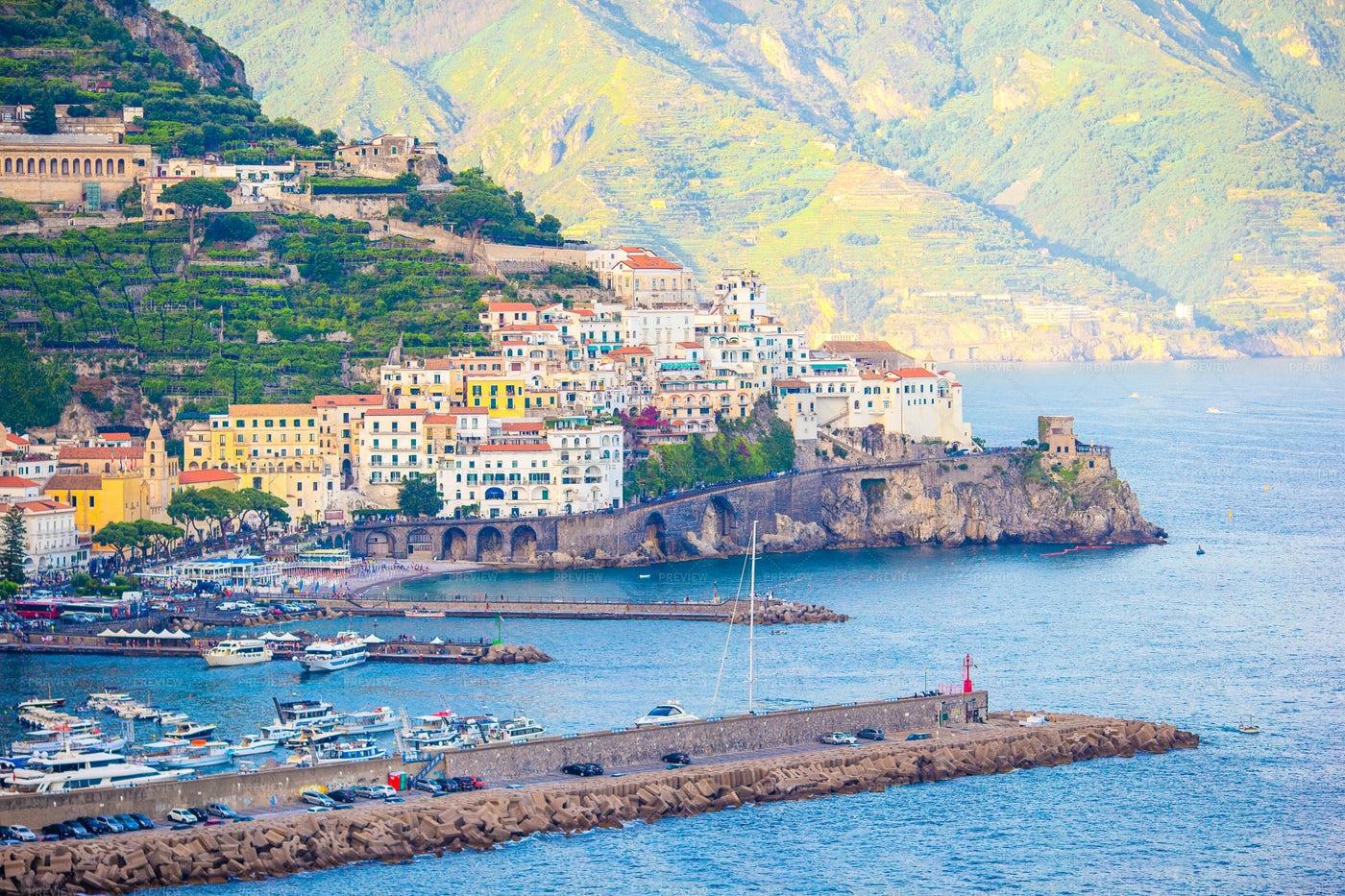 Amalfi Coast: Stock Photos