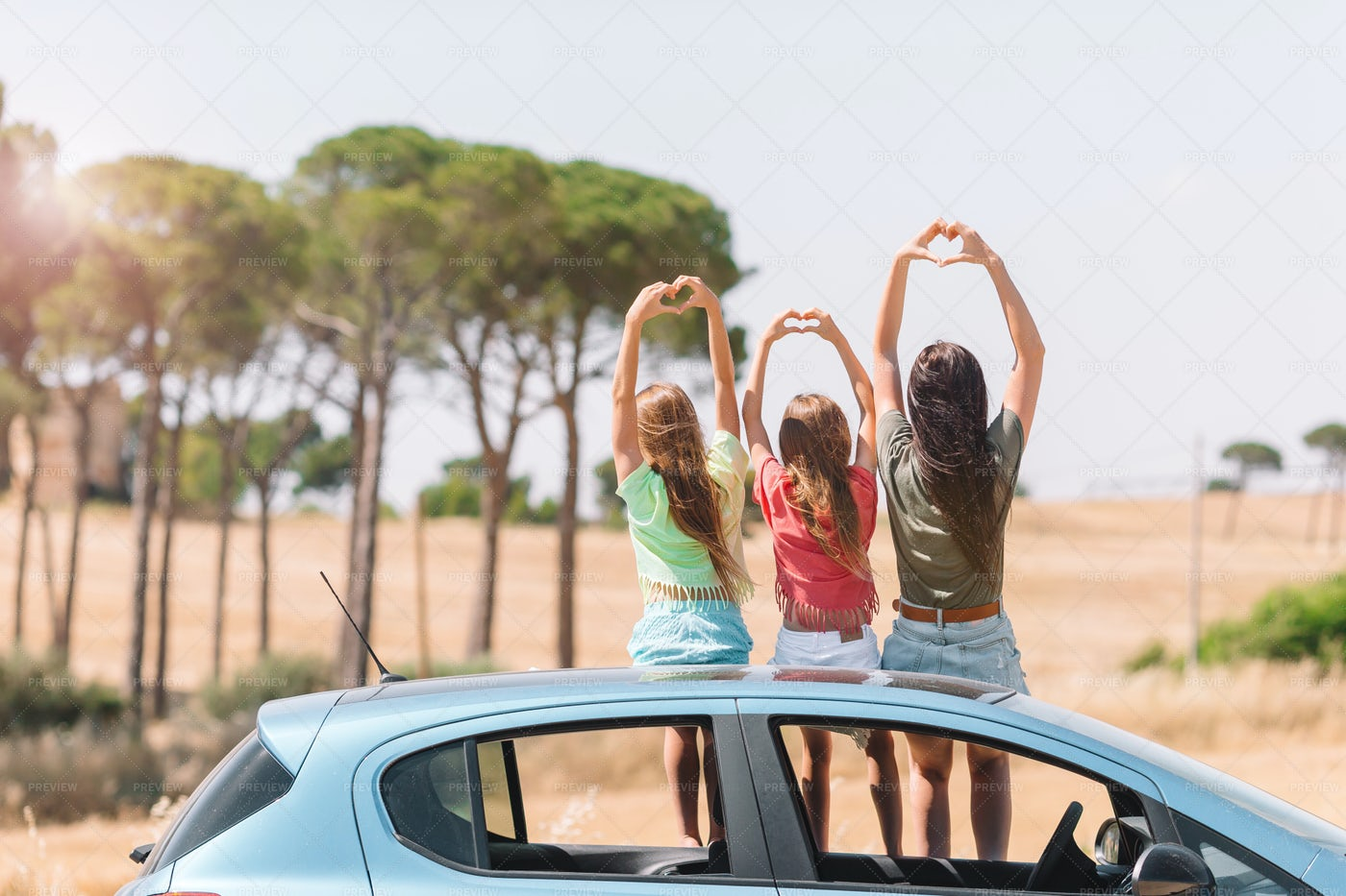 Fun Car Trip: Stock Photos