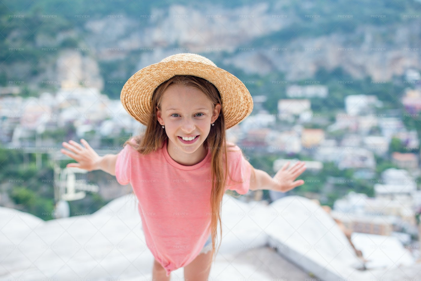 On The Rooftops: Stock Photos