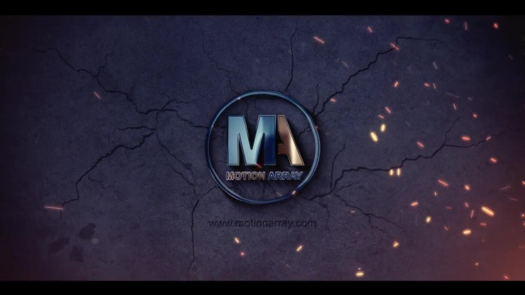 Dark Reveal Logo: After Effects Templates