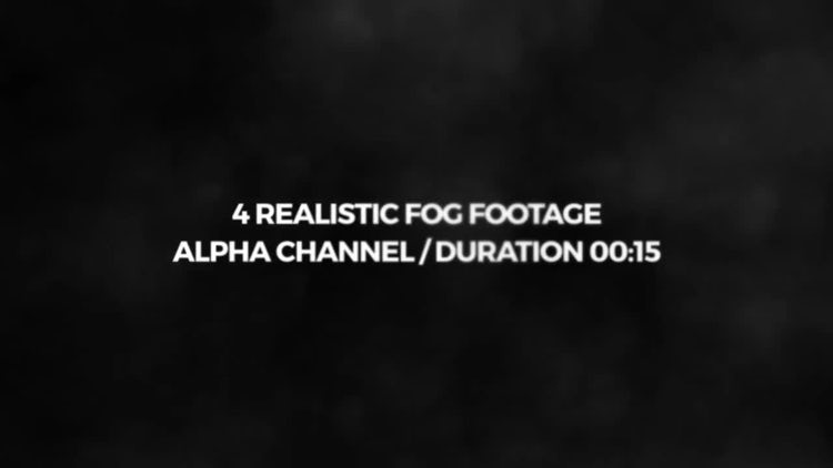 Realistic Fog Pack: Stock Motion Graphics
