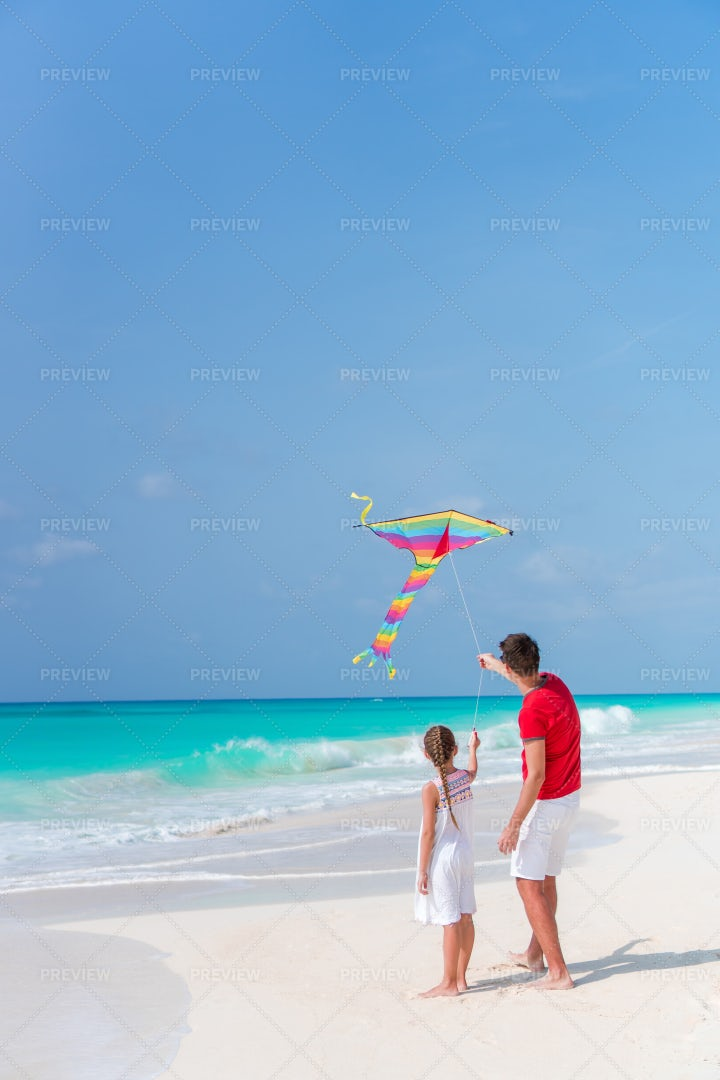 Kite On The Beach: Stock Photos