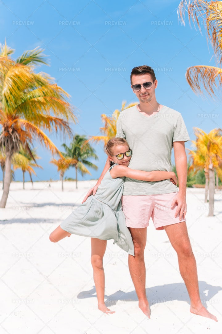 Father And Daughter Vacation: Stock Photos