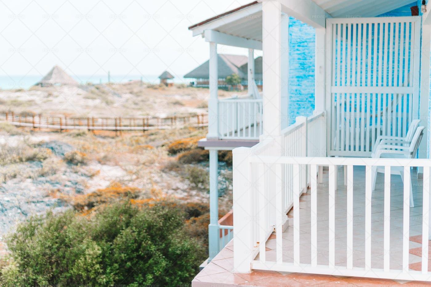 Beach House Patio: Stock Photos