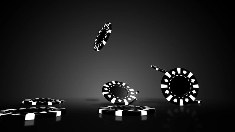 Poker Chips Loop: Stock Motion Graphics
