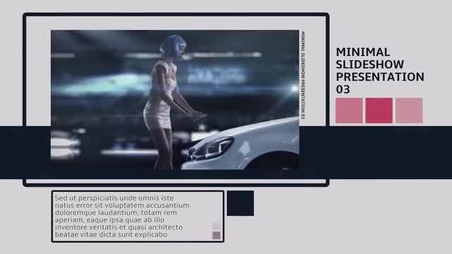 Minimal Slideshow Presentation 01: Premiere Pro Templates
