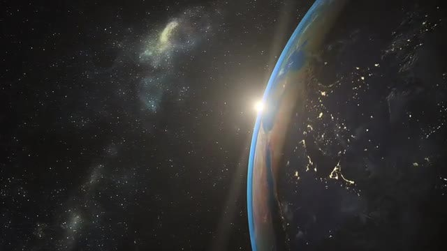 Earth Realistic Animation: Stock Motion Graphics
