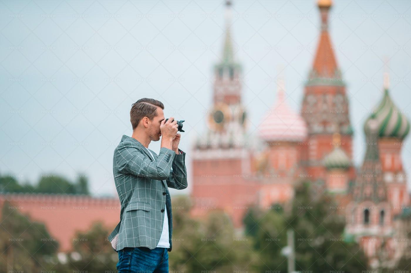 Photographer In Moscow: Stock Photos