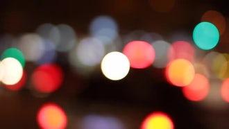 Bokeh Lights: Stock Video