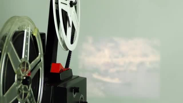 Vintage Film Rolling 1: Stock Video