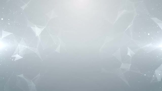 Particles Plexus White Background: Stock Motion Graphics