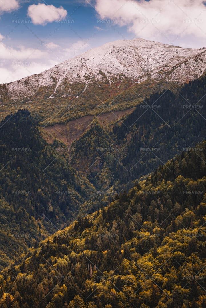 Autumn In The Mountains: Stock Photos