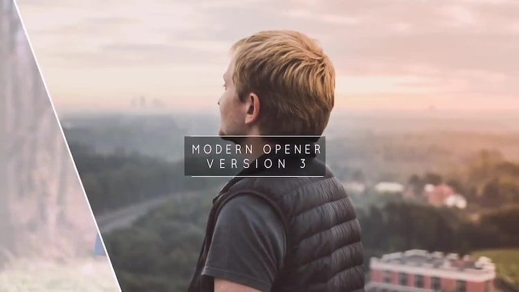 Modern Opener 3: After Effects Templates