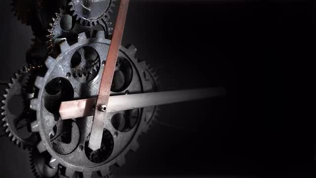 Clock Gears : Stock Video