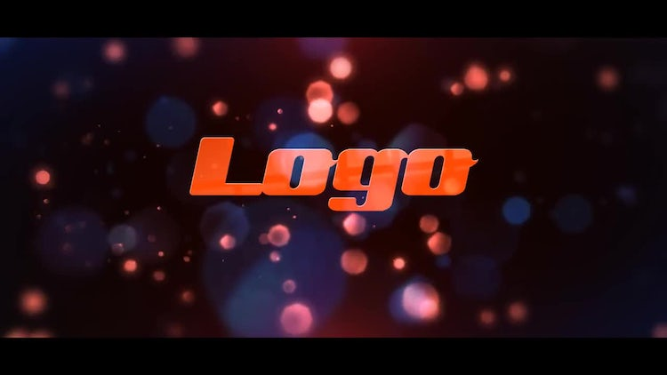 Bokeh Logo Reveal: After Effects Templates
