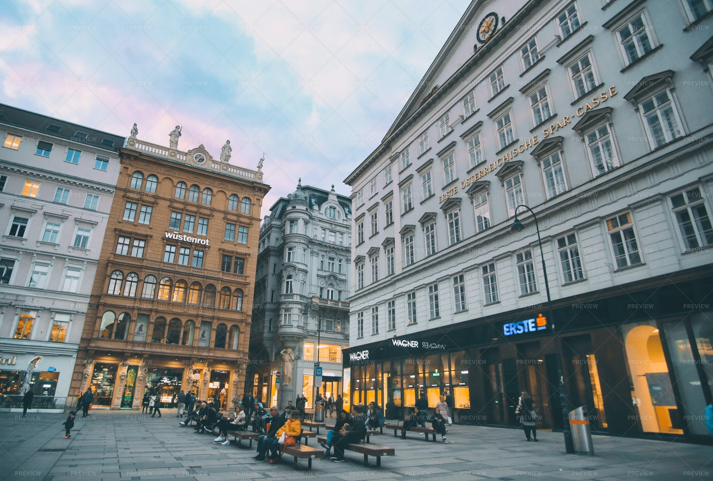 Vienna Storefronts: Stock Photos