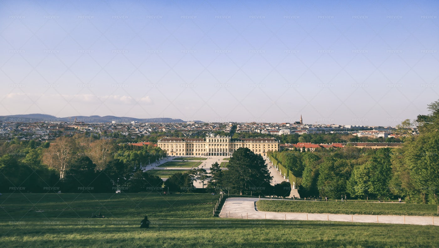 View Of The Schonbrun Palace: Stock Photos