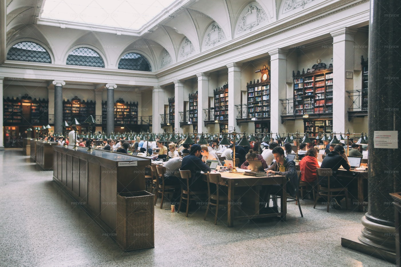 Library In Vienna: Stock Photos