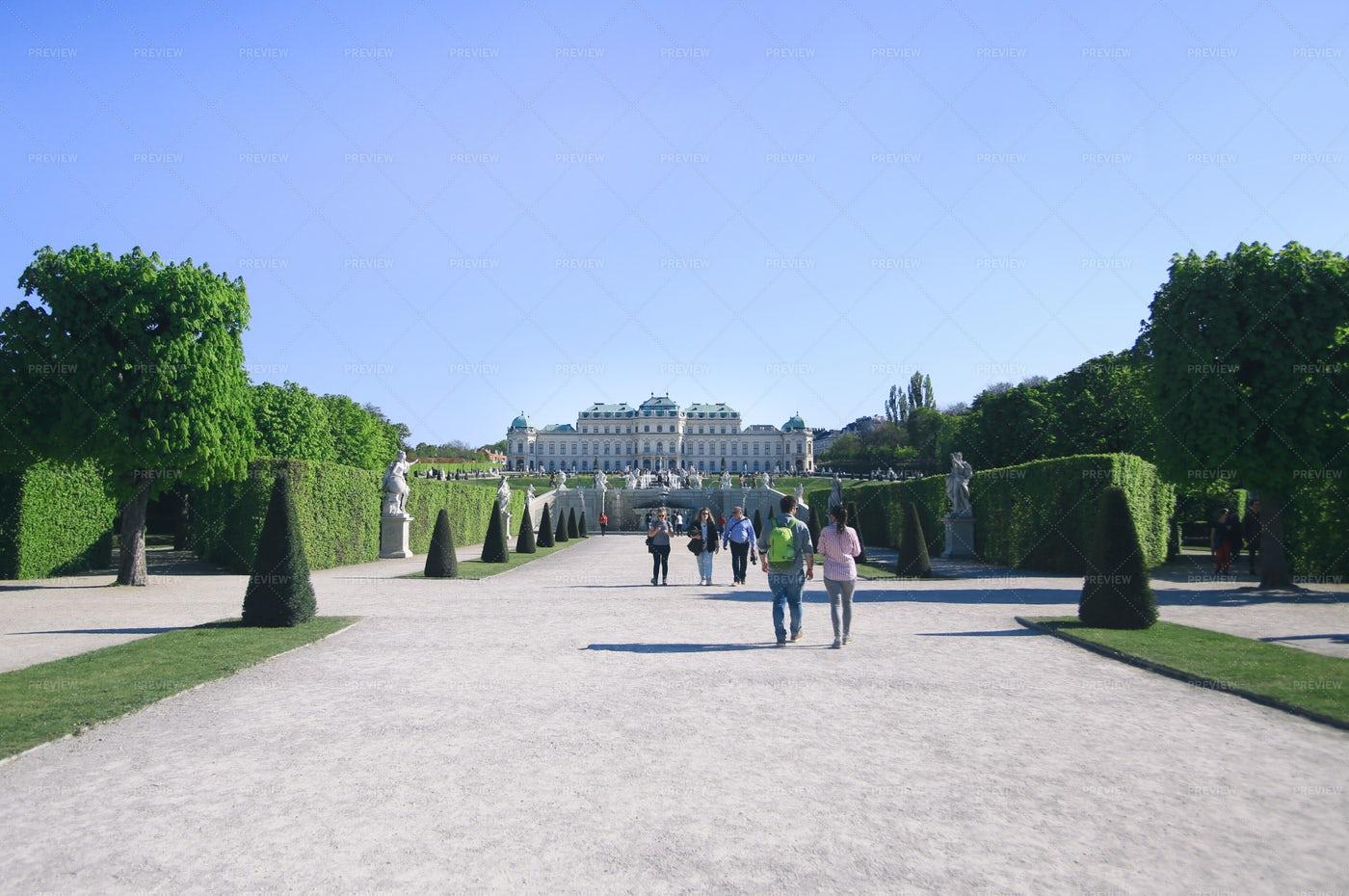 Belvedere Palace: Stock Photos