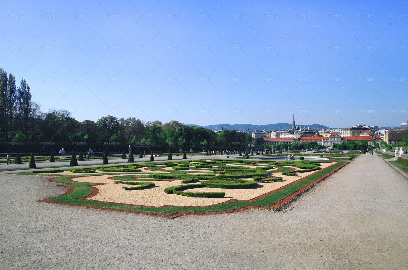 Belvedere Palace, Vienna: Stock Photos