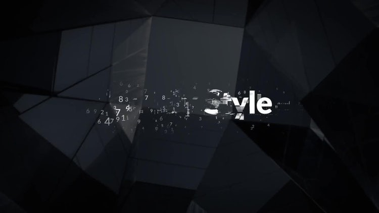 Titles Animator Digital Data: Premiere Pro Templates