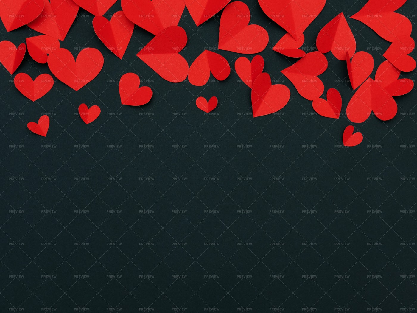Love And Valentine Background With Heart: Stock Photos
