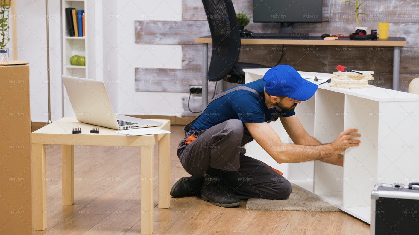 Furniture Assembly Service: Stock Photos