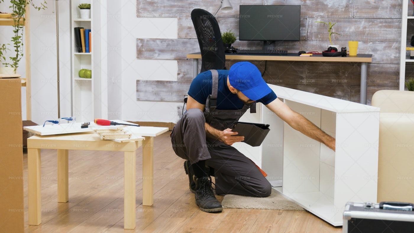 Assembling Furniture: Stock Photos