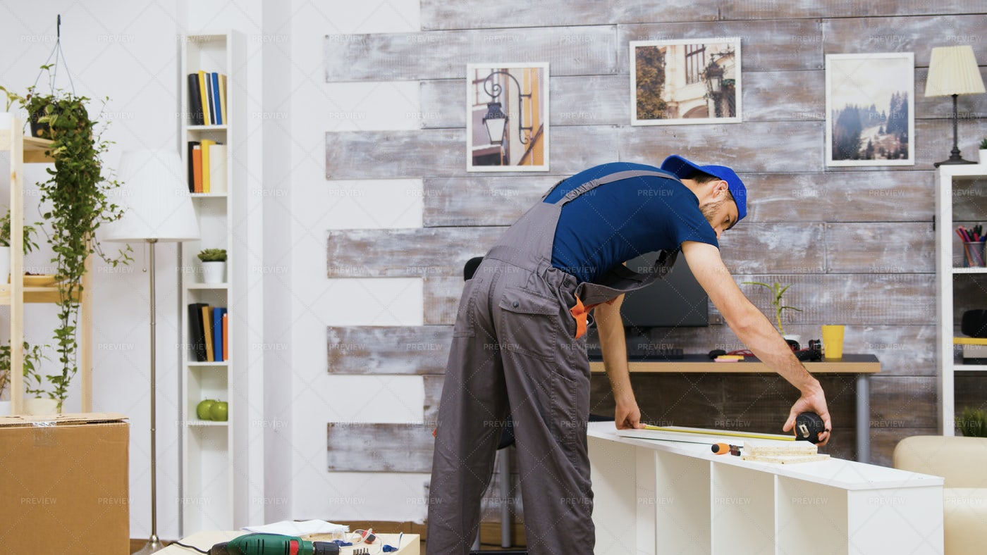 Measuring Furniture: Stock Photos