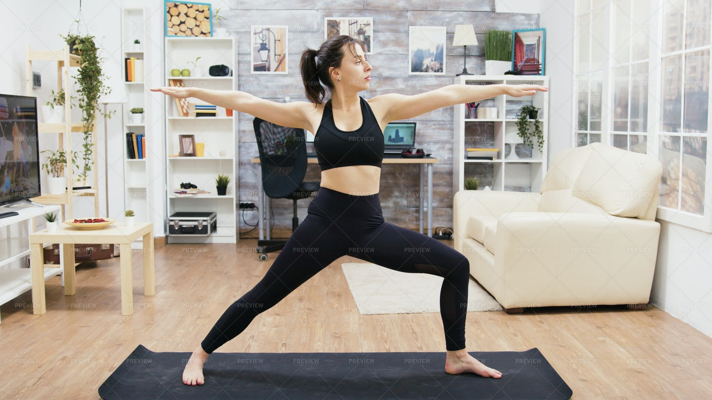 Yoga Practice: Stock Photos