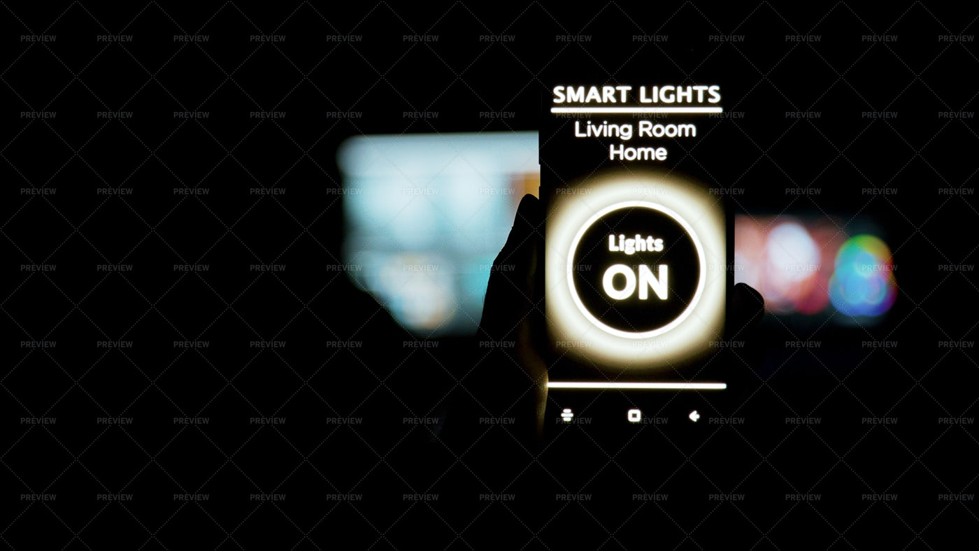 Lighting Application In Darkness: Stock Photos