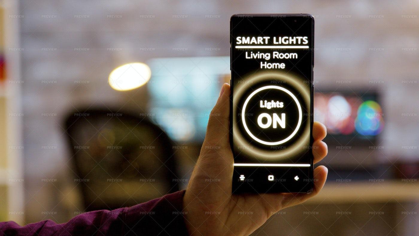 Smart Light Application: Stock Photos
