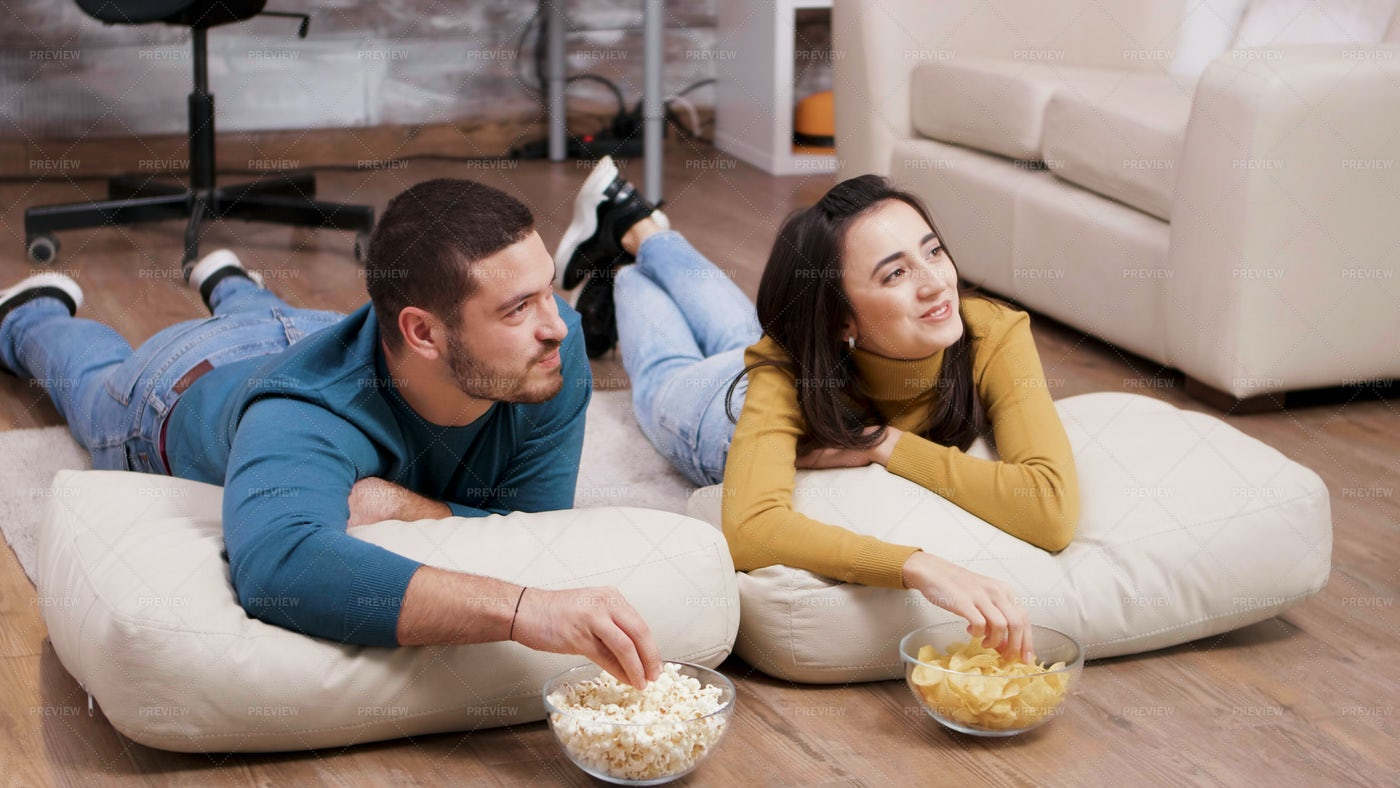 Movies And Popcorn: Stock Photos