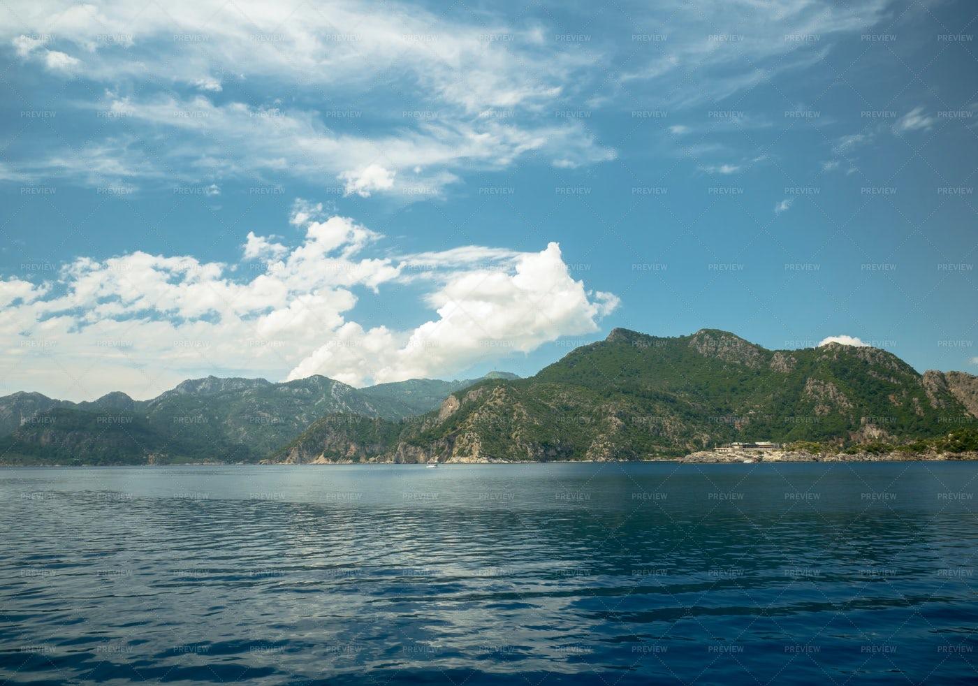 Ocean And Mountains: Stock Photos