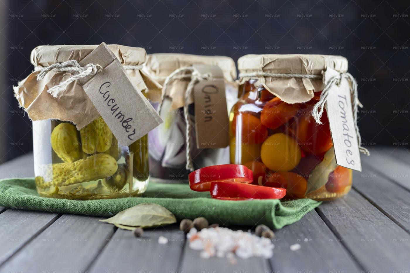 Glass Jars Tagged: Stock Photos