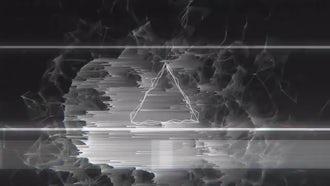 Dark Glitch Logo: After Effects Templates