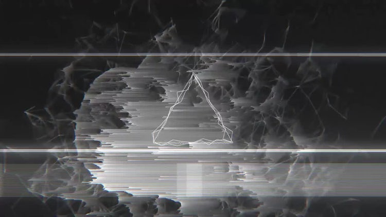 Dark Glitch Logo: After Effects Templates