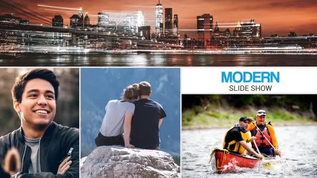 Modern Slideshow: After Effects Templates
