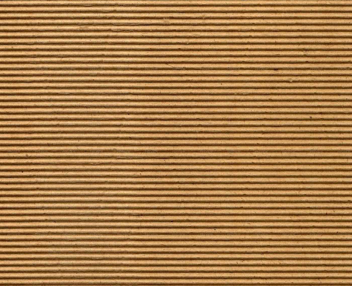 Brown Corrugated Cardboard Texture: Stock Photos