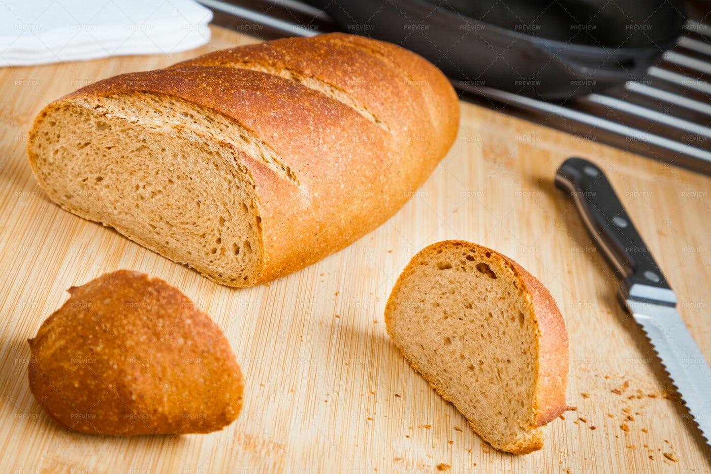 Homemade Bread: Stock Photos