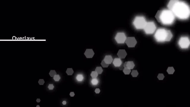 Bokeh Lights Overlay: Stock Motion Graphics