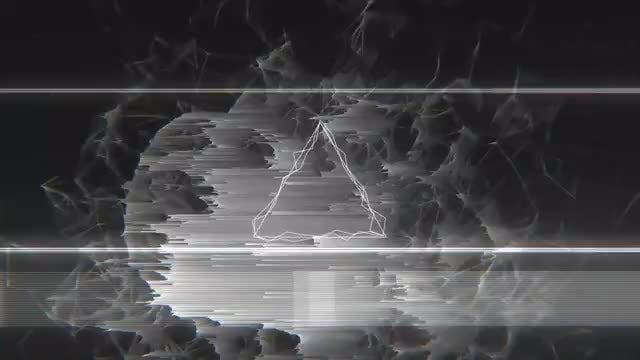 Dark Glitch Logo: Premiere Pro Templates